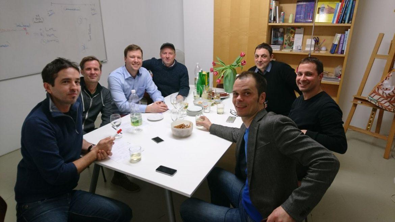 Österreichische Geschäftskultur: Nick Wallner, Klaus Bayer, Marian Stancik, Tony Bayer, Klaus Olbrich, Franz Denk, Christian Gigler, Christiane Reitshammer